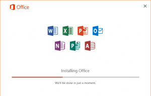 Office 2016 Error code30015-6 (-1)