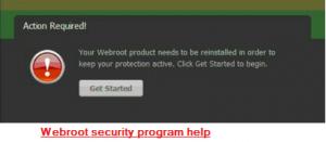 webroot security help