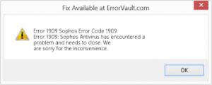 error code 1909-KB4517389